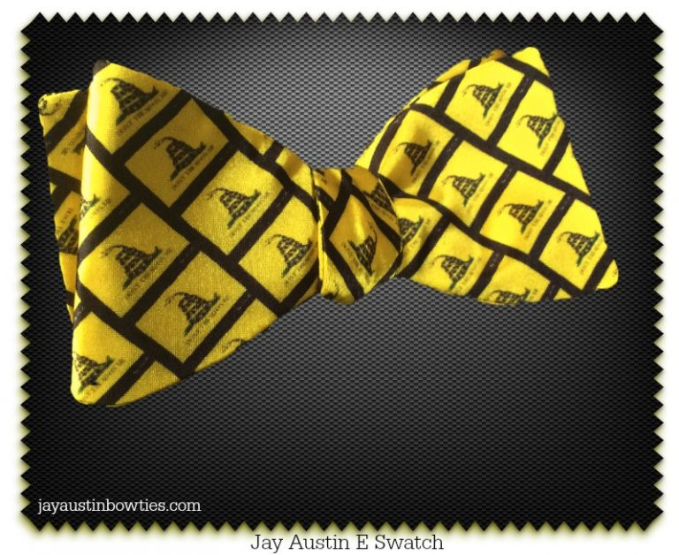 Jay Austin Don't Tread on Me Bowtie