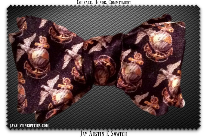 Globe and Anchor Bowtie