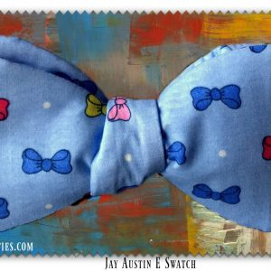 Blue Bowtie print tied final