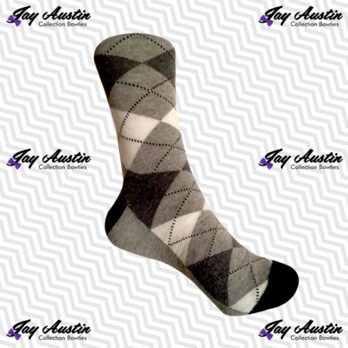 Light Gray Argyle